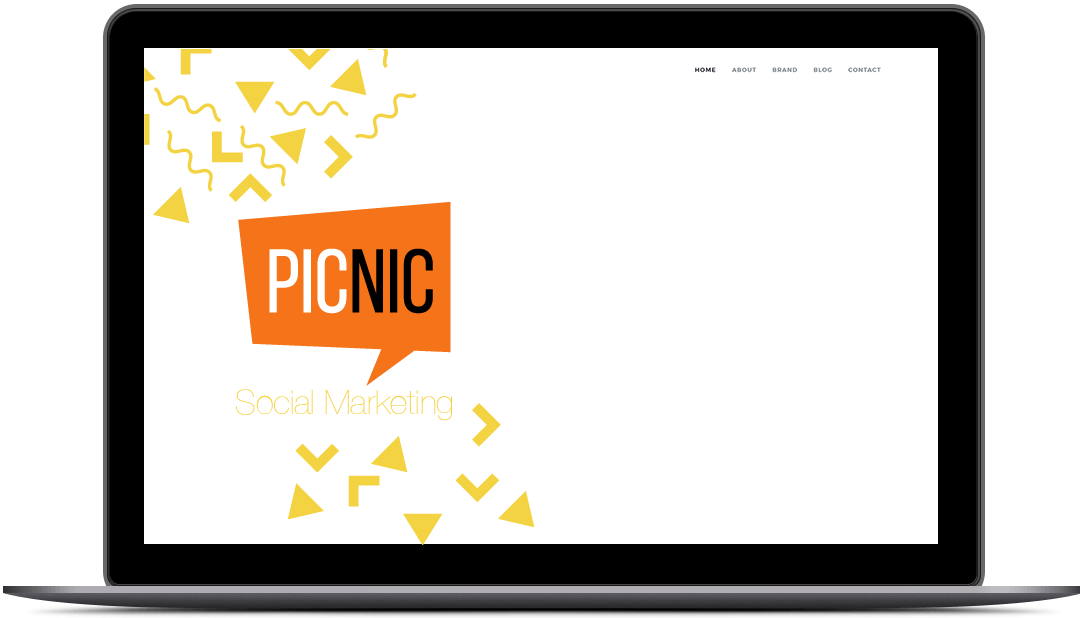 Notebook Picnic y fondo web